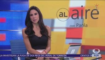 Al Aire, con Paola Rojas Programa del 25 de septiembre