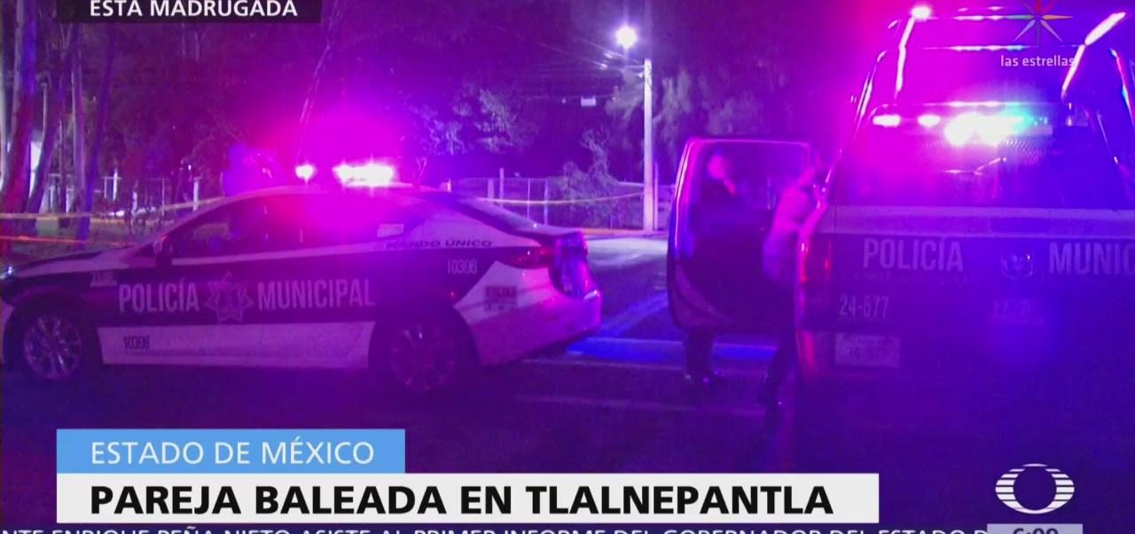 Al menos cinco personas mueren baleadas en Valle de México