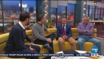 Alberto Pelaez visita el estudio de Matutino Express
