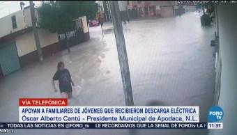 Alcalde de Apodaca: Sumersión provocó muerte de joven