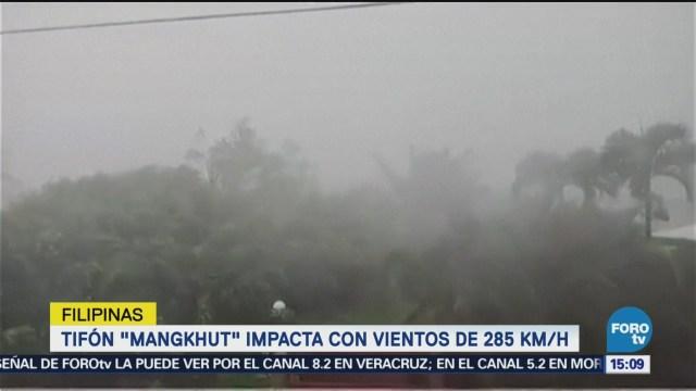 Alerta Filipinas Tifón Mangkhut