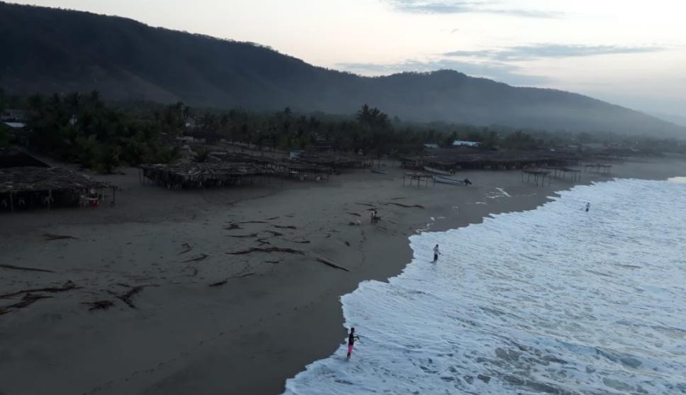 Alerta por mar de fondo en Oaxaca