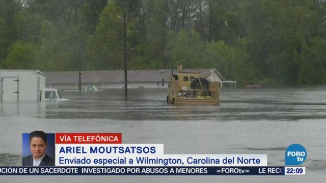 Alertan Lluvias Torrenciales Las Carolinas Florence