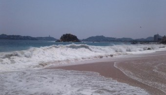 Prevén nuevo mar de fondo en playas de Guerrero