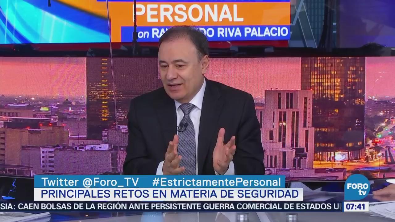 Alfonso Durazo: Capacitación de los policías municipales será prioridad