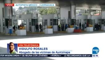 Alistan Mitin Víctimas Ayotzinapa