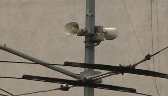 CDMX realiza segunda prueba para altavoces de alerta sísmica este lunes