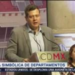 Amieva entrega 160 departamentos en Miguel Hidalgo