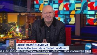 Amieva reitera colaboración con la UNAM en investigaciones