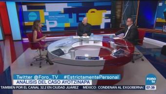 Análisis del Caso Ayotzinapa en Estrictamente Personal