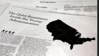 Ártículo NYT: Pence y Pompeo niegan ser los autores