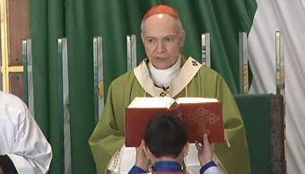 Arzobispo Aguiar Retes ora para que el país mejore