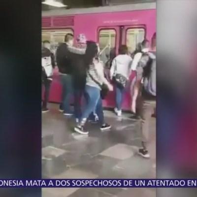 Así opera banda de carteristas en el Metro de la CDMX