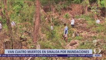 Aumenta cifra de muertos por inundaciones en Sinaloa