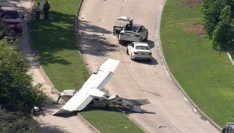 Avioneta de la DEA cae en suburbio de Houston