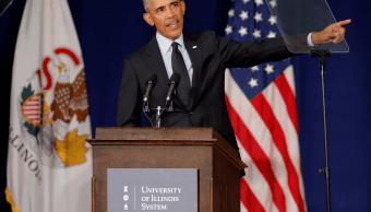 Obama: Trump saca provecho de resentimientos
