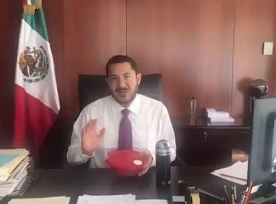 Martí Batres impulsa #TuppersChallenge en el Senado