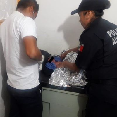 Abandonan a recién nacida dentro de bolsa en Oaxaca