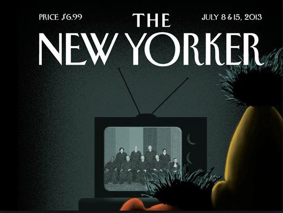 Beto y Enrique, según imagen del New Yorker. (The New Yorker)