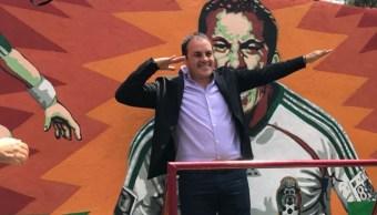 Cuauhtémoc Blanco responde a acusaciones de Polevnsky