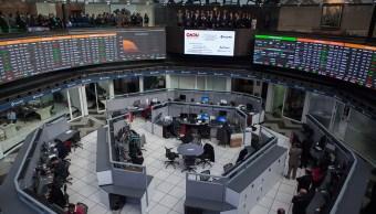Bolsa Mexicana retrocede por aversión global al riesgo