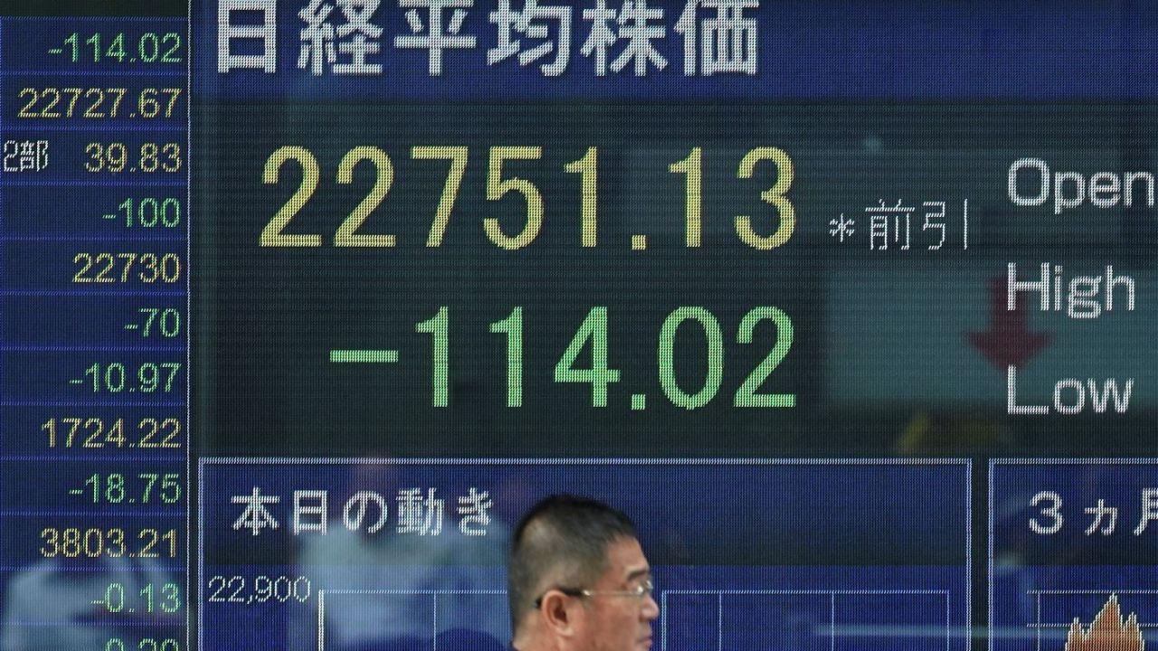 Bolsa de Tokio cierra con pérdidas, índices chinos a la baja