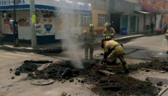 Muere bombero intoxicado al atender fuga de gas en la CDMX