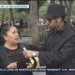 Bryan Mendoza, desde la Plaza de la Solidaridad