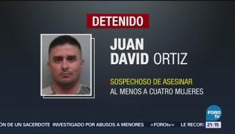 Cae Exagente Fronterizo Múltiples Asesinatos Asesino Mujeres