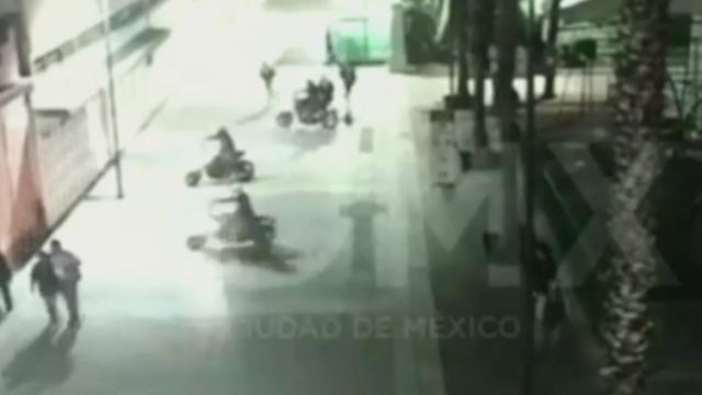 Cámaras de seguridad captan huida de agresores en Garibaldi
