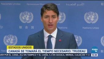 Canadá se tomará el tiempo necesario para llegar a TLCAN