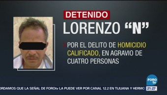 Capturan 'El Ciclón' Líder Criminal En Puebla