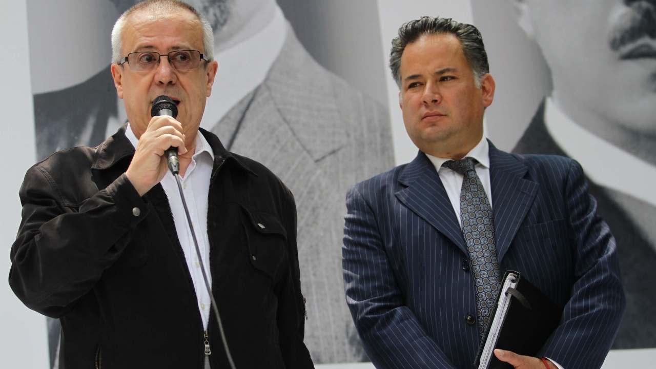 Santiago Nieto, a la Unidad de Fiscalización de Hacienda