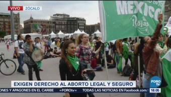 Mujeres Demandan Legalización Aborto Todo México