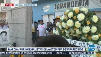 Acto Solemne Iguala Desaparecidos Ayotzinapa Estudiantes