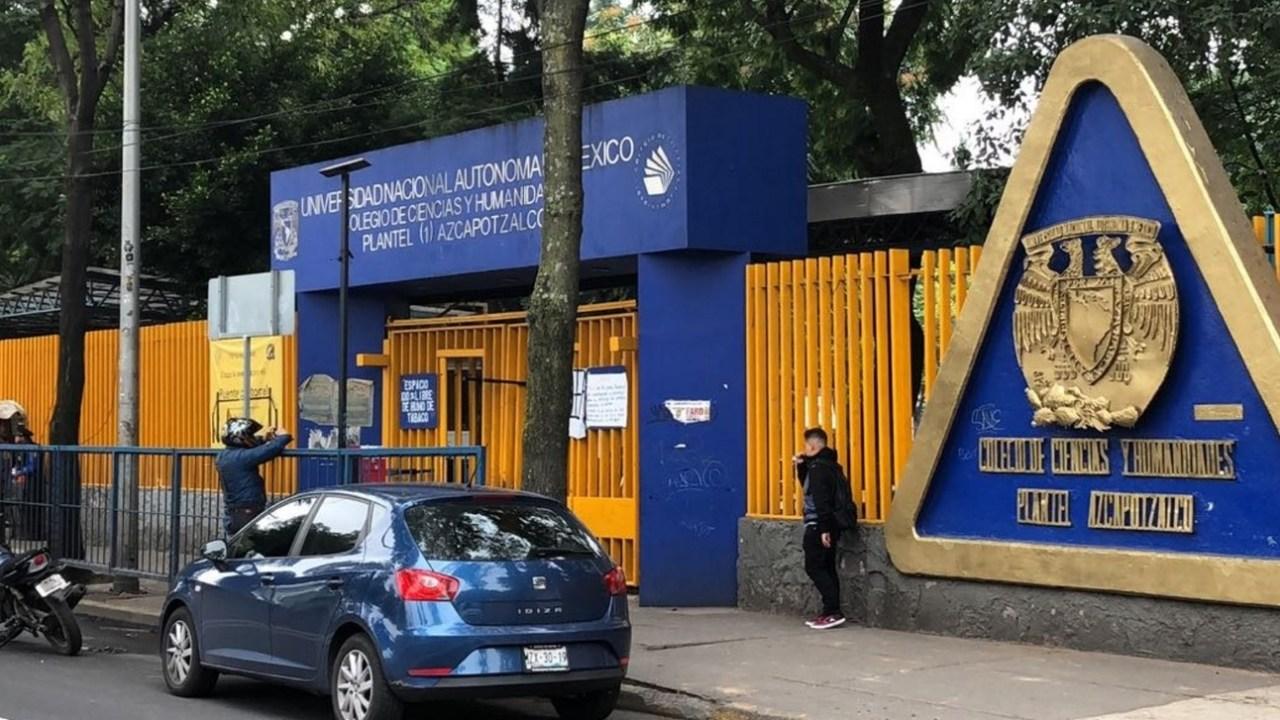UNAM expulsa a 2 estudiantes del CCH Azcapotzalco por violencia en Rectoría