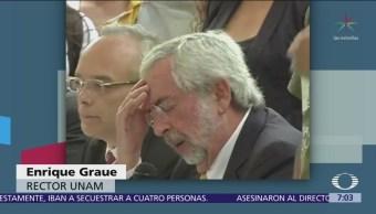 CCH Azcapotzalco condena agresión contra el rector Enrique Graue