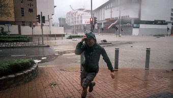 Dos muertos y numerosos destrozos en China por tifón Mangkhut