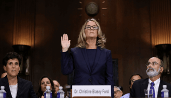 Caso Kavanaugh: Presunta víctima testifica ante el Senado