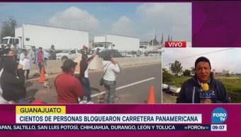 Cientos Personas Bloquearon Carretera Panamericana