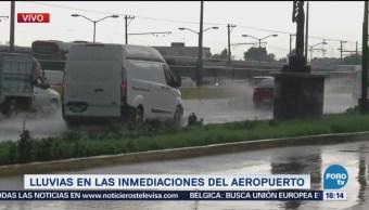 Circulación En Bulevard Puerto Aéreo, Complicada Lluvias