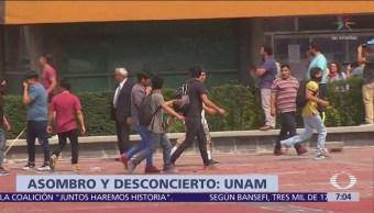 CNDH indagará detenciones arbitrarias por ataque de porros en la UNAM
