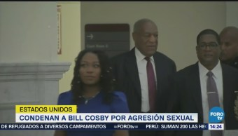 Condenan a Bill Cosby por abuso sexual