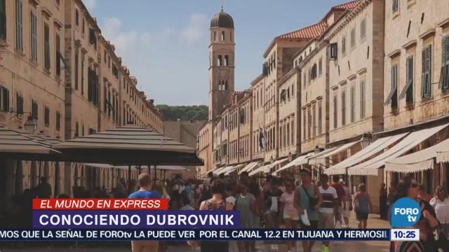 Conoce la ciudad de Dubrovnik, en Croacia