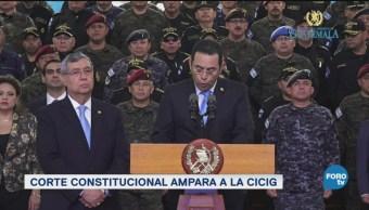 Corte De Guatemala Autoriza Comisión Contra La Impunidad