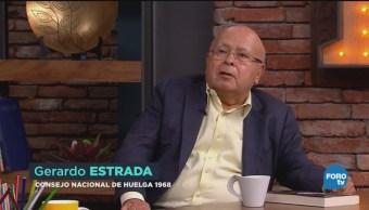 Gerardo Estrada Rememora Momentos Más Importantes Movimiento Estudiantil 1968