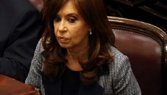 Cristina Fernández libra prisión por fuero de senadora