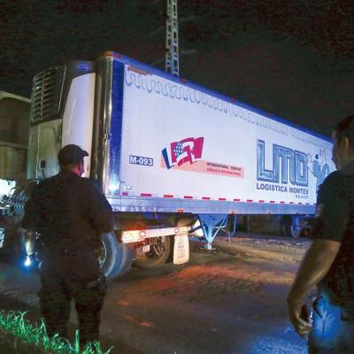 Inicia construcción de cámara frigorífica para cuerpos hallados en tráiler en Jalisco