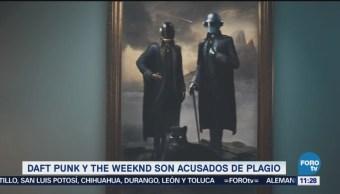 Daft Punk y The Weeknd, acusados de plagio por Starboy