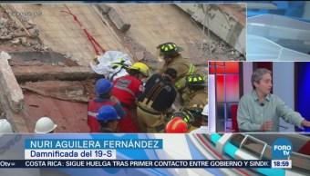 Damnificados edificio Zapata avanzan trámites reconstrucción